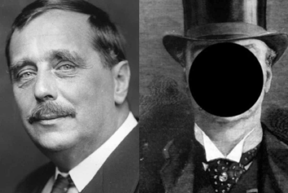 H.G. Wells and a depiction of Jack the Ripper