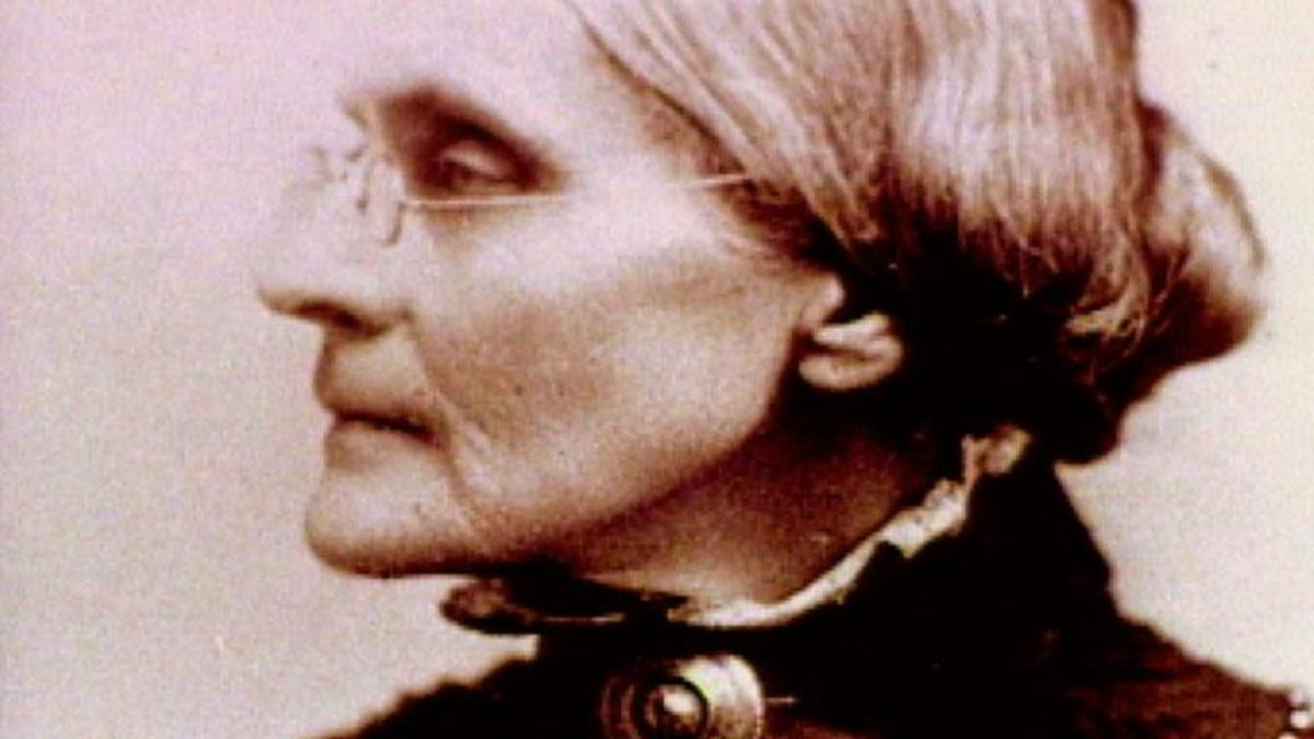 Susan B  Anthony - An Act of Courage