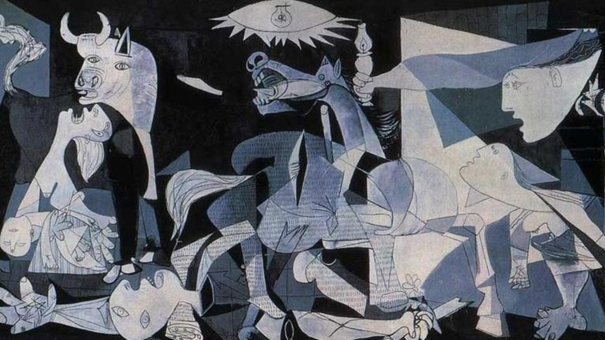 Image result for guernica picasso