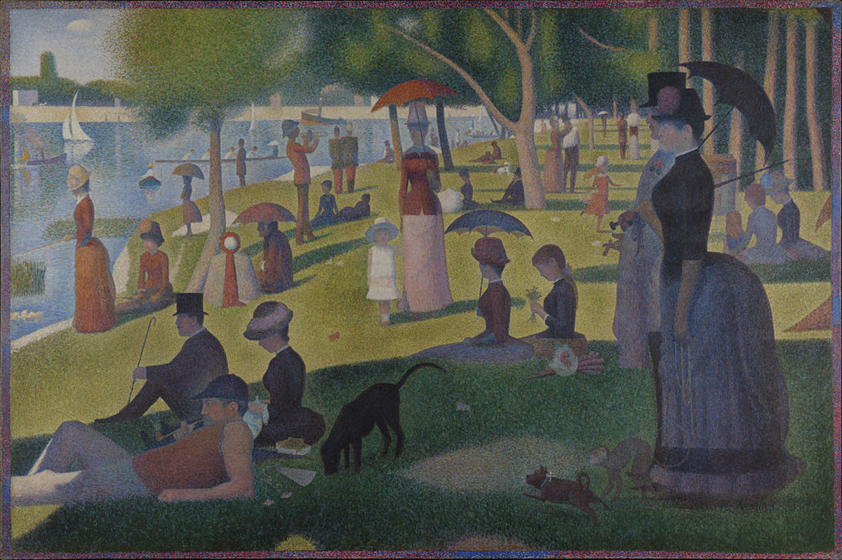 'A Sunday on La Grande Jatte' Photo