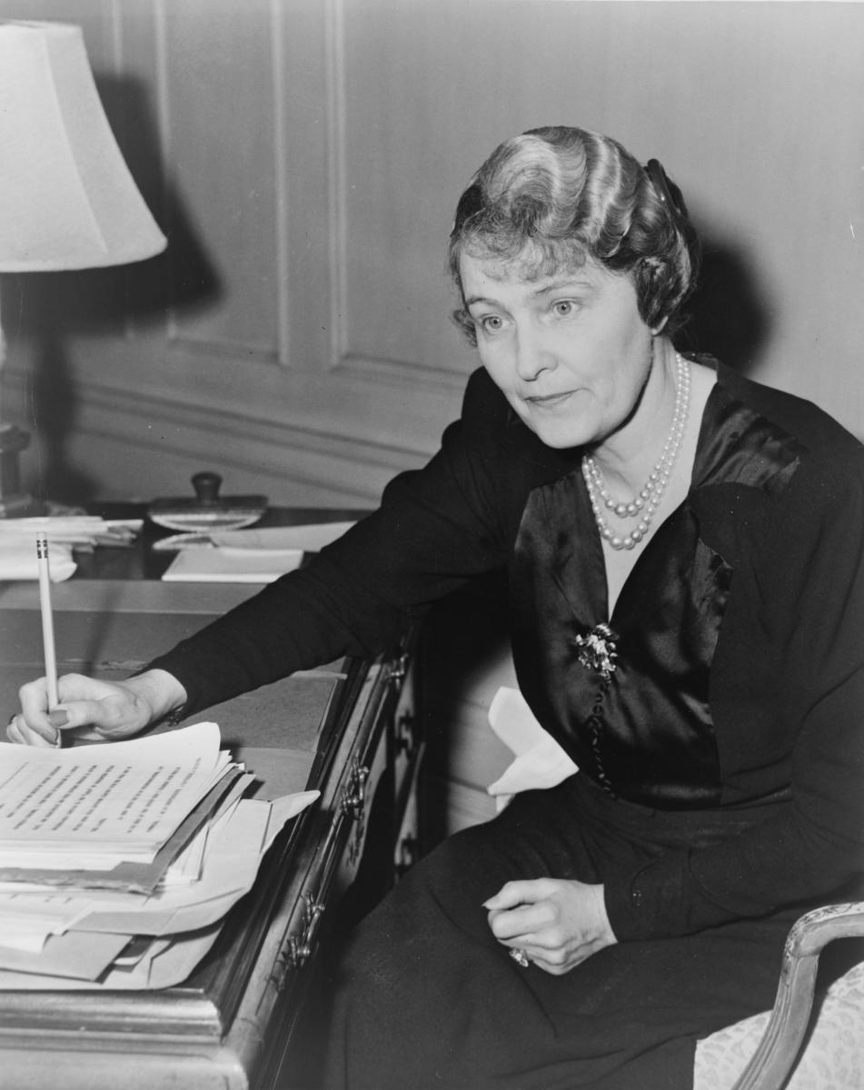 Marjorie Merriweather Post in 1942