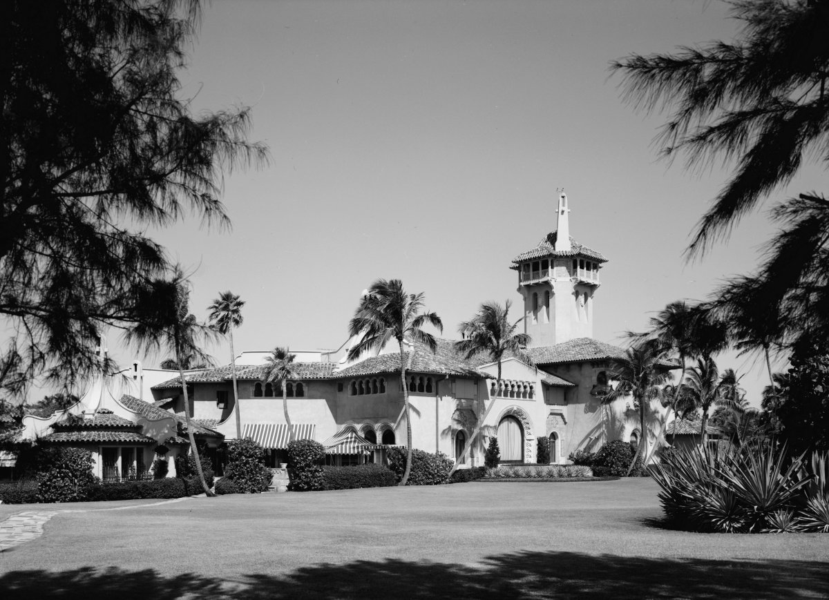 Mar-a-Lago photographed in 1967.