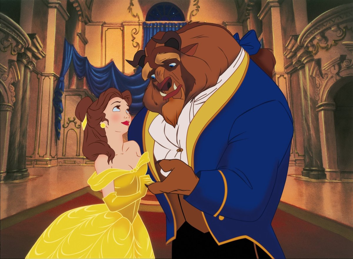 Beauty and the Beast Animated Movie 1991