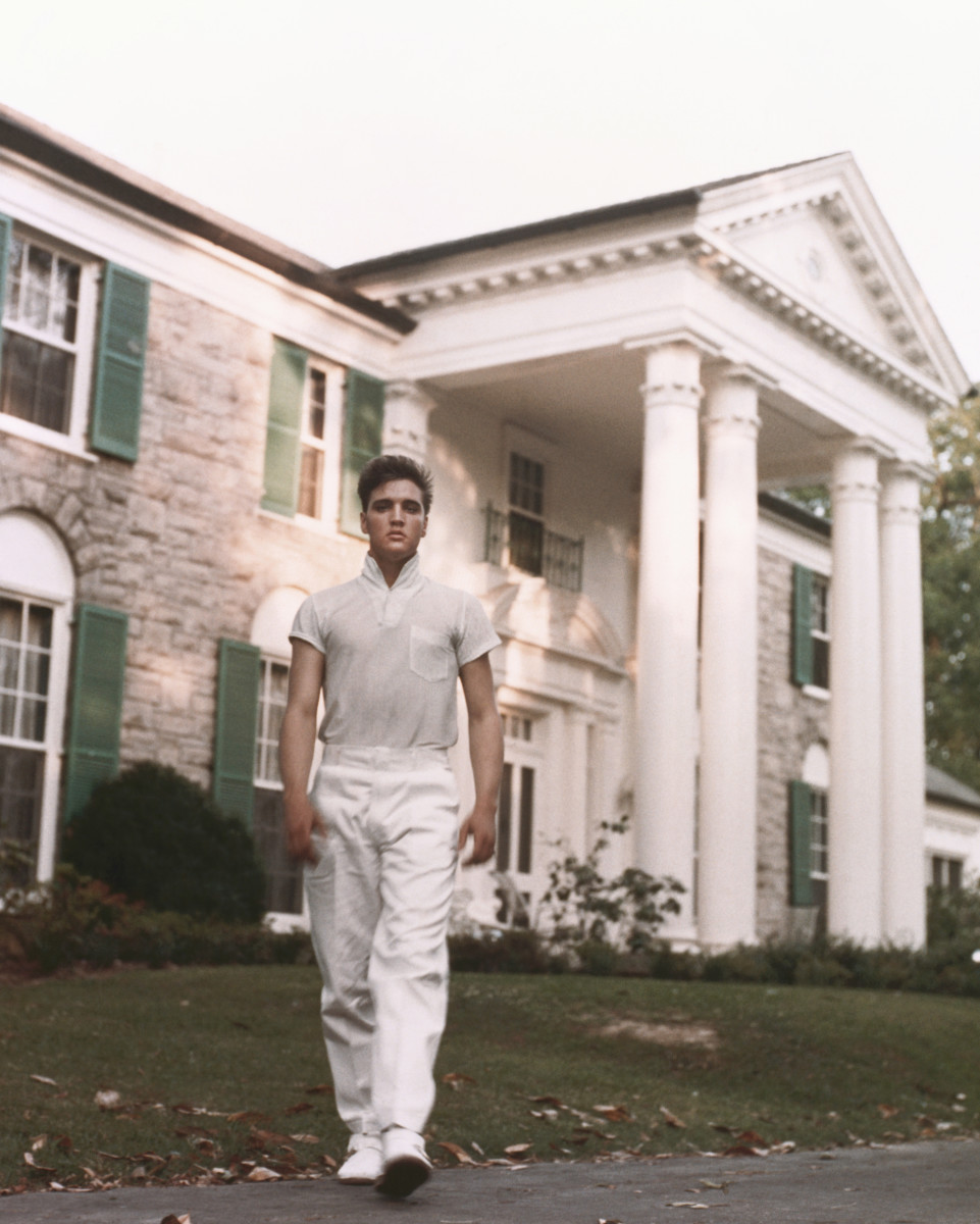 Elvis Presley Graceland Photo