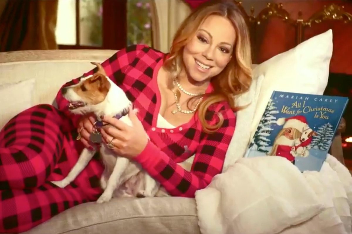 Mariah Carey 'All I Want for Christmas Is You' Twitter Photo