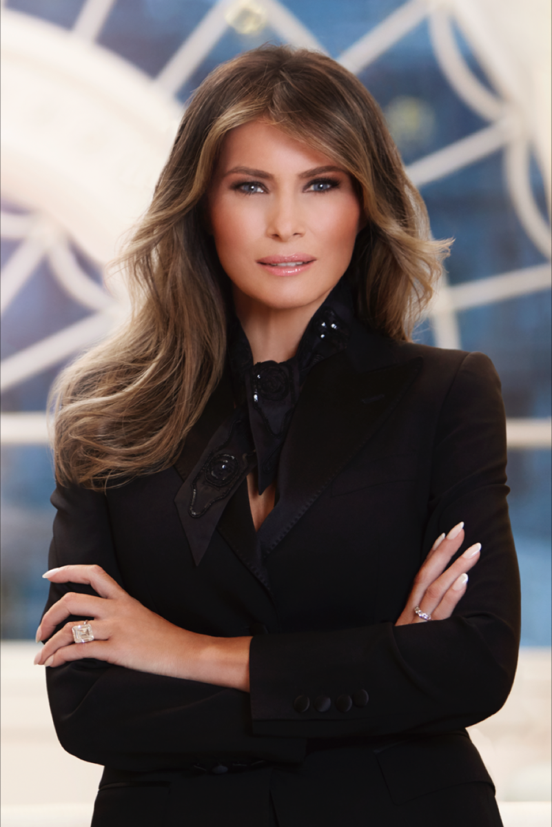 Melania Trump Official White House Portrait