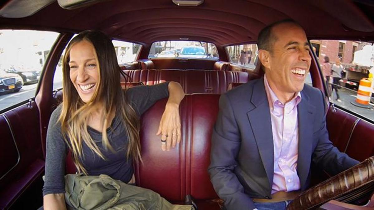 Sarah Jessica Parker Jerry Seinfeld Comedians in Cars