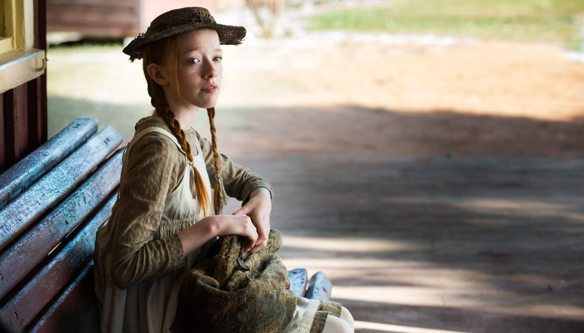Amybeth McNulty in 'Anne with an E'