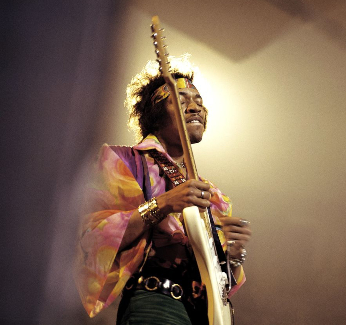 Jimi Hendrix in 1969