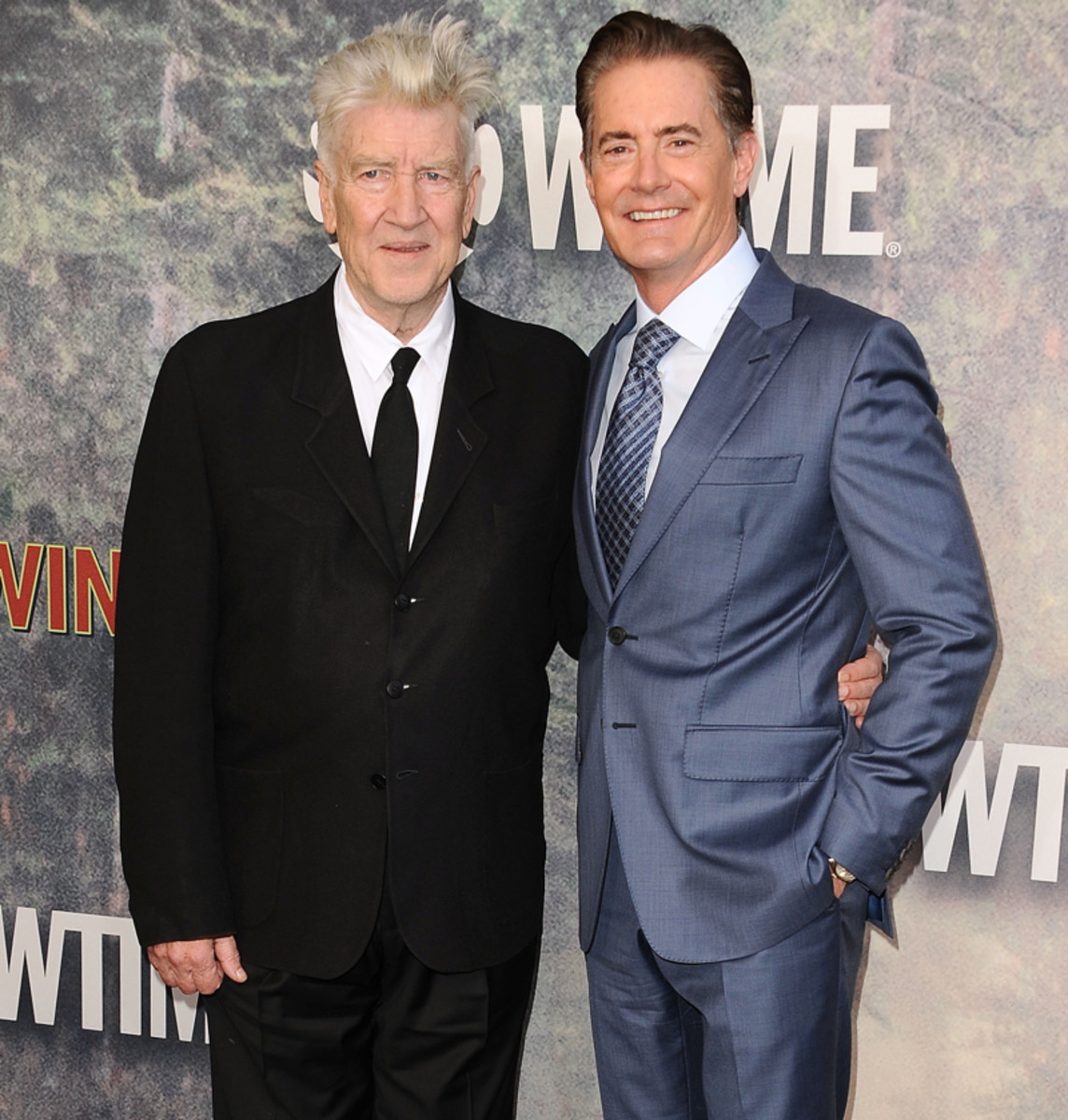 David Lynch and Kyle MacLachlan at 2017 Twin Peaks premiere
