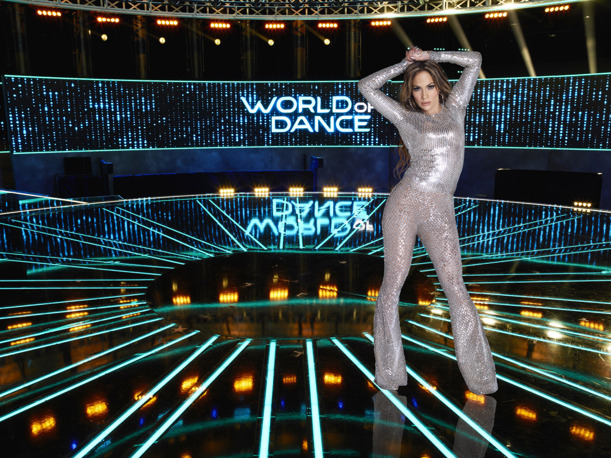 J-Lo 'World of Dance' Photo