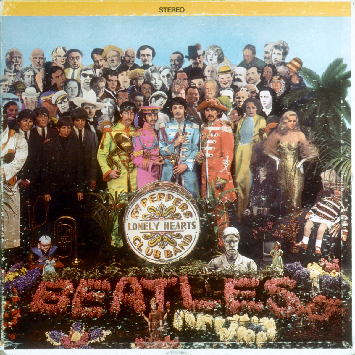 'Sgt. Pepper's Lonely Hearts Club Band' Album Cover