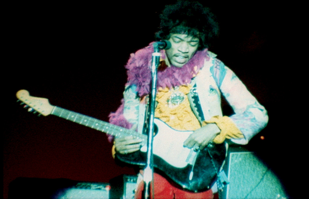 The Jimi Hendrix Experience in Monterey Pop