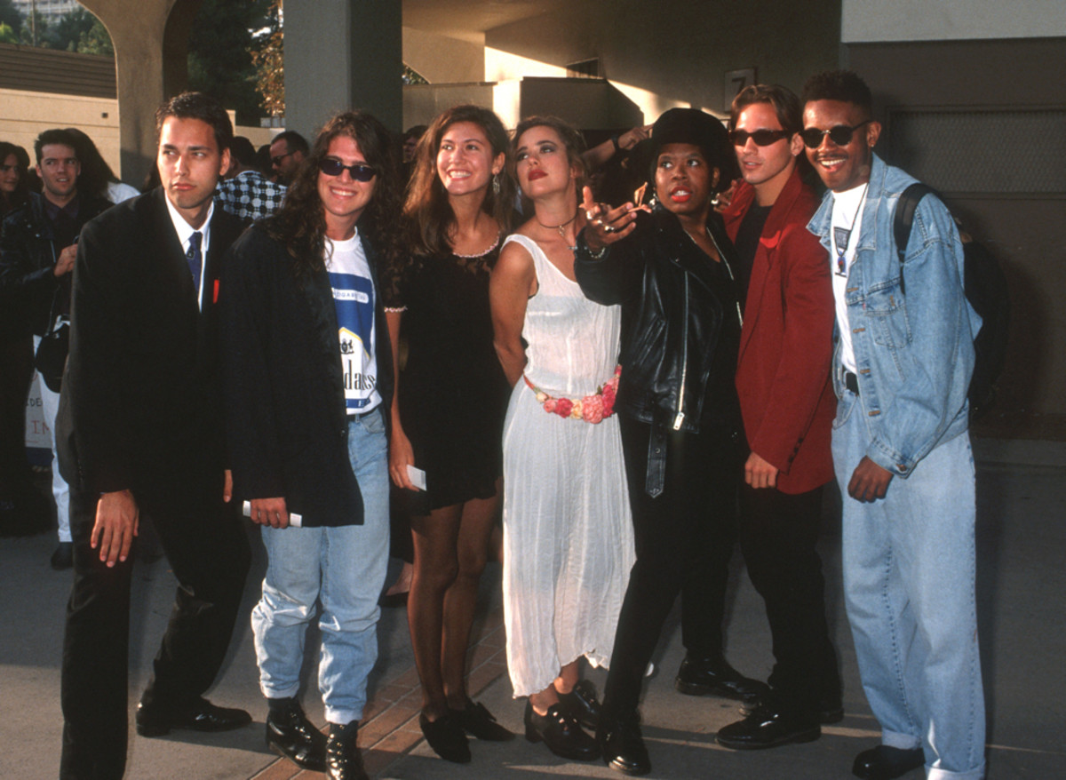 The Real World New York cast in 1992