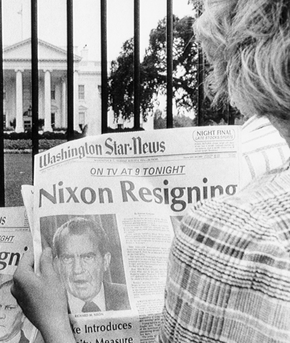 the life administration and scandal of richard nixon Biography of richard milhous nixon richard nixon arguing that staying on the sidelines would mean the end of nixon's political life nixon administration.