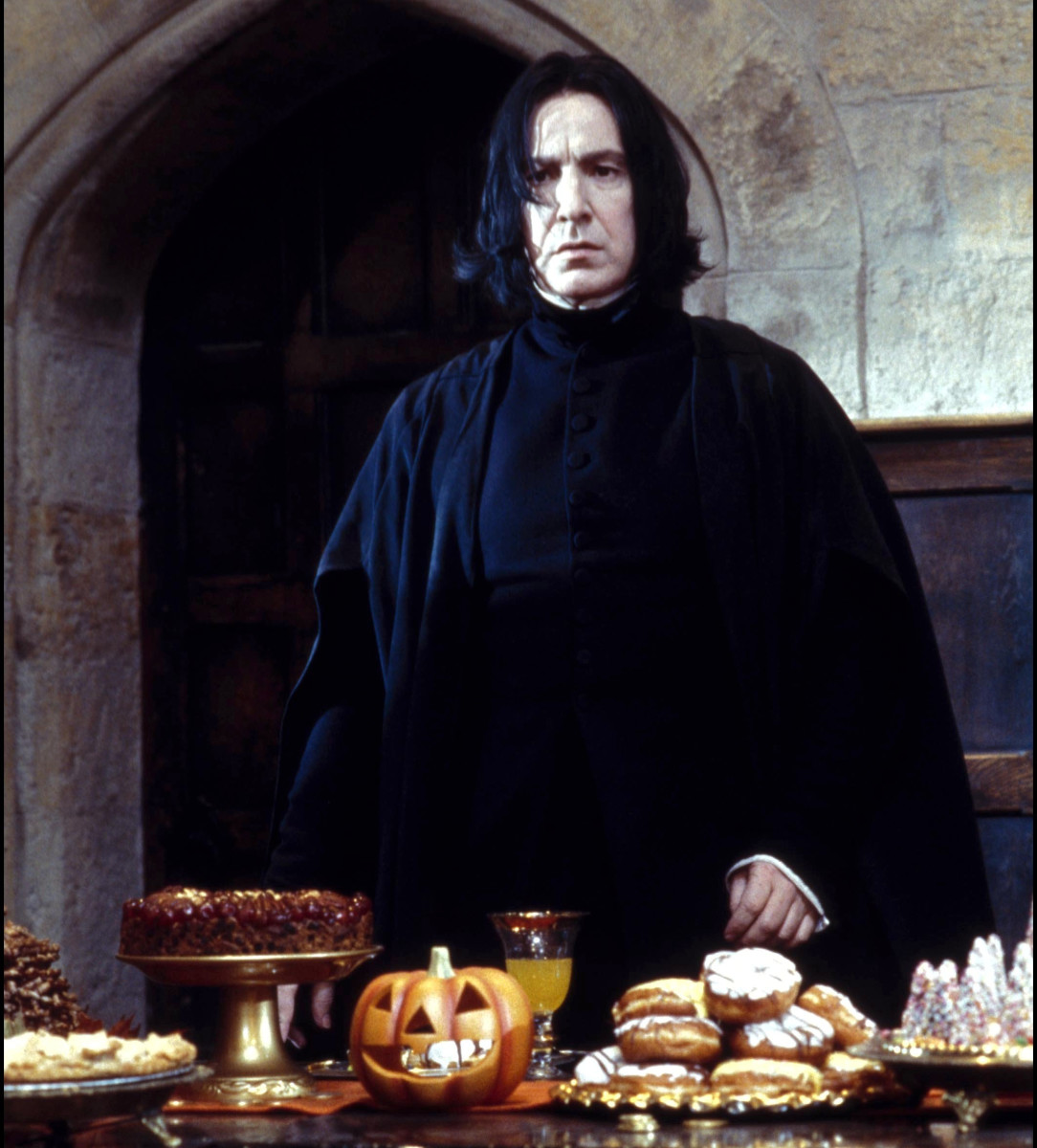 Severus Snape Harry Potter Photo