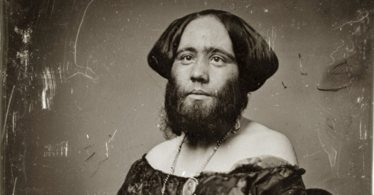 Madame Clofullia Bearded Lady Photo