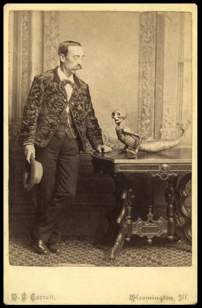 Feejee Mermaid Photo