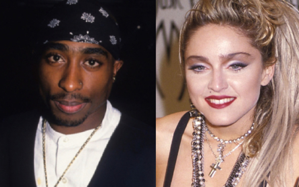 Tupack Shakur and Madonna