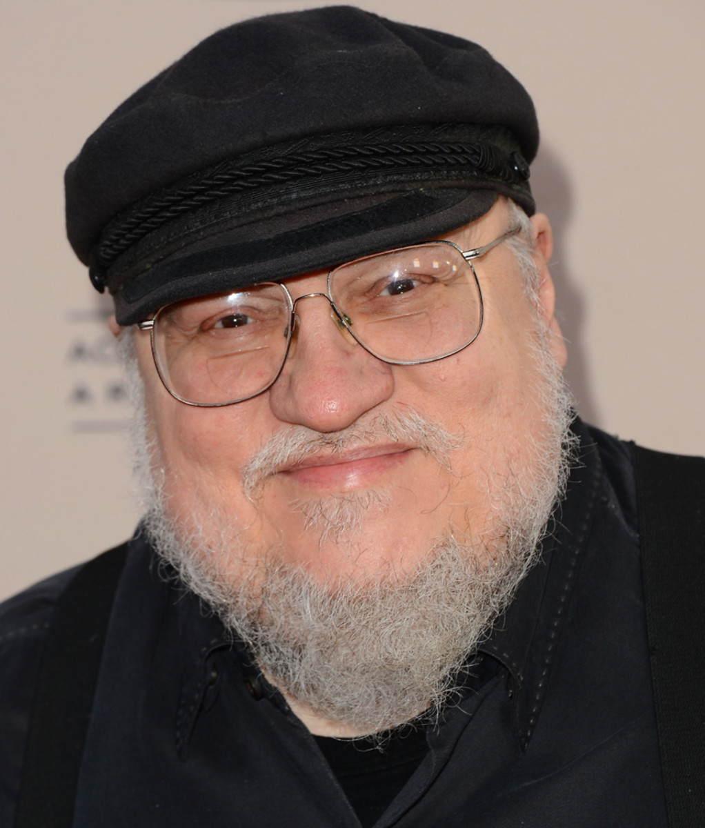 George R R Martin glaring at you