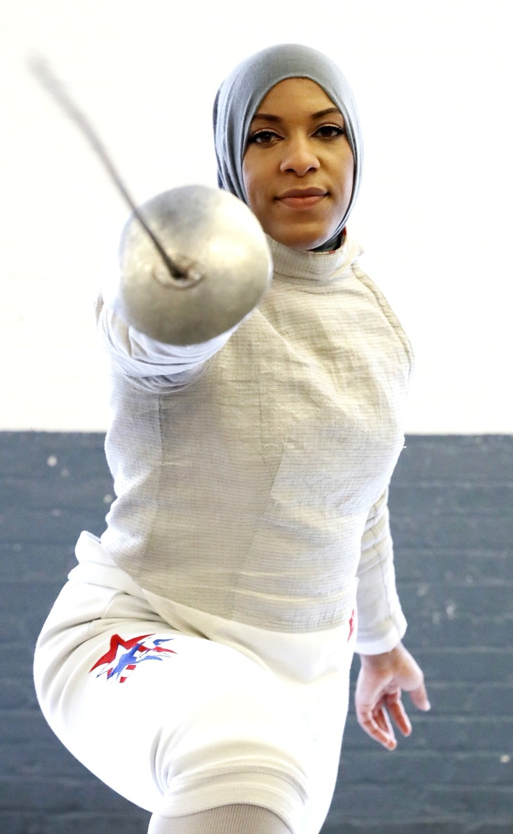 Ibtihaj Muhammad photo via Getty Images