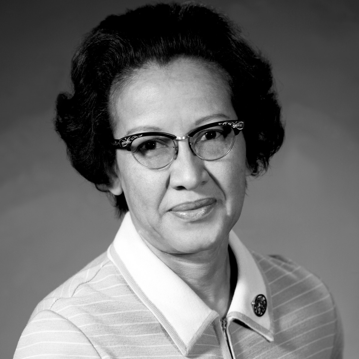 Katherine G. Johnson photo via NASA