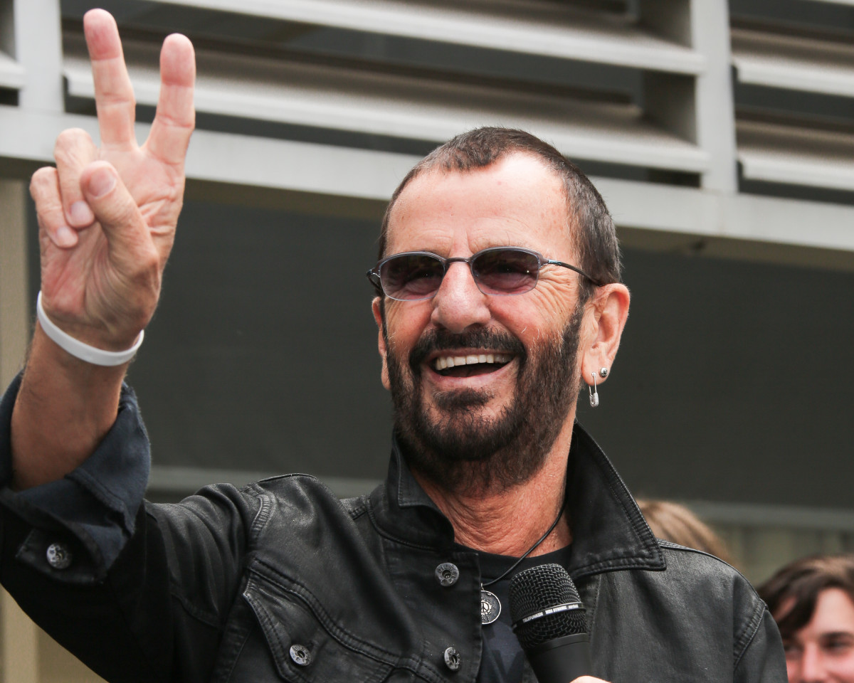 Ringo Starr In 2015 Photo By Paul Archuleta FilmMagic