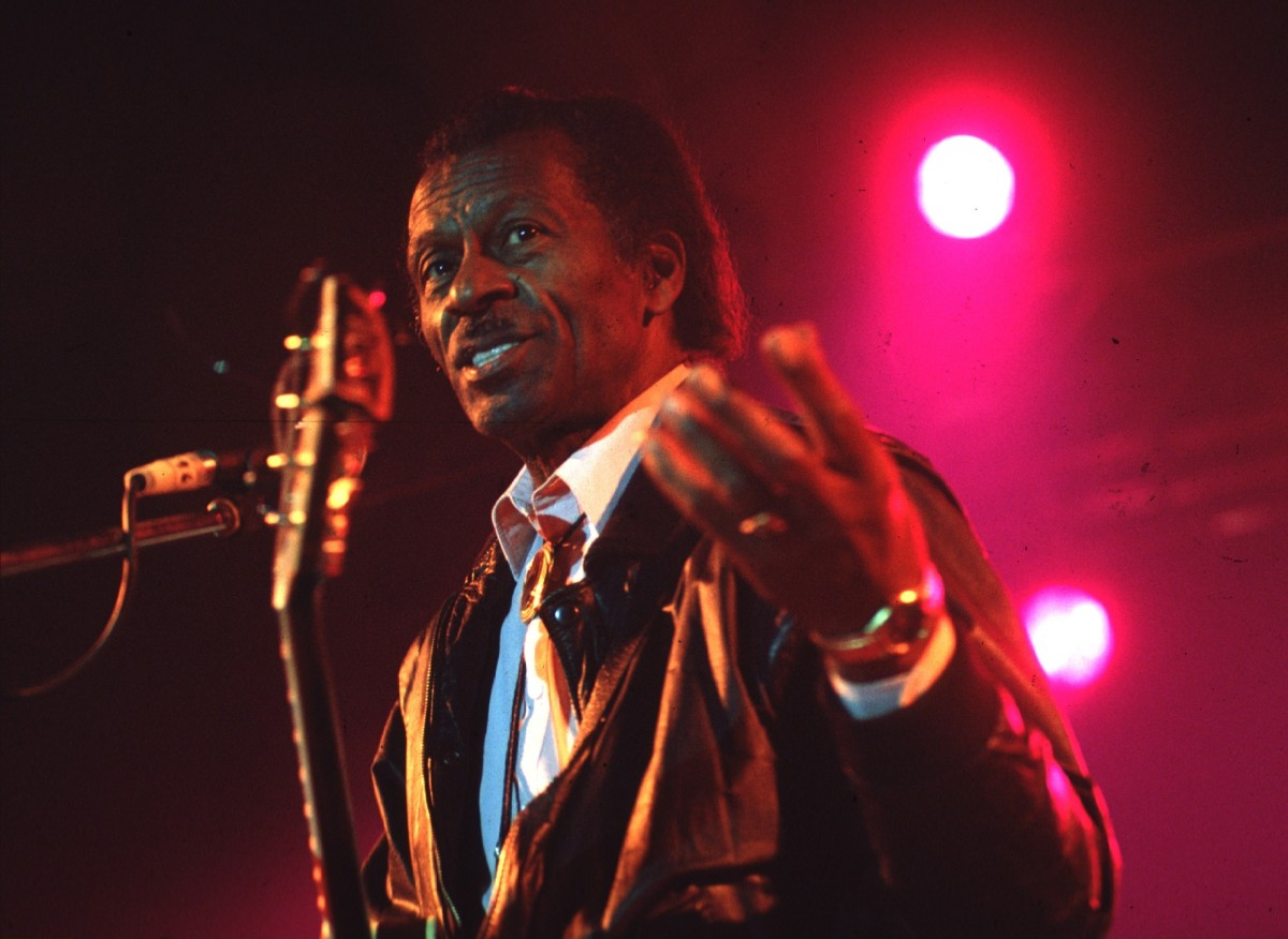 Chuck Berry in 1992