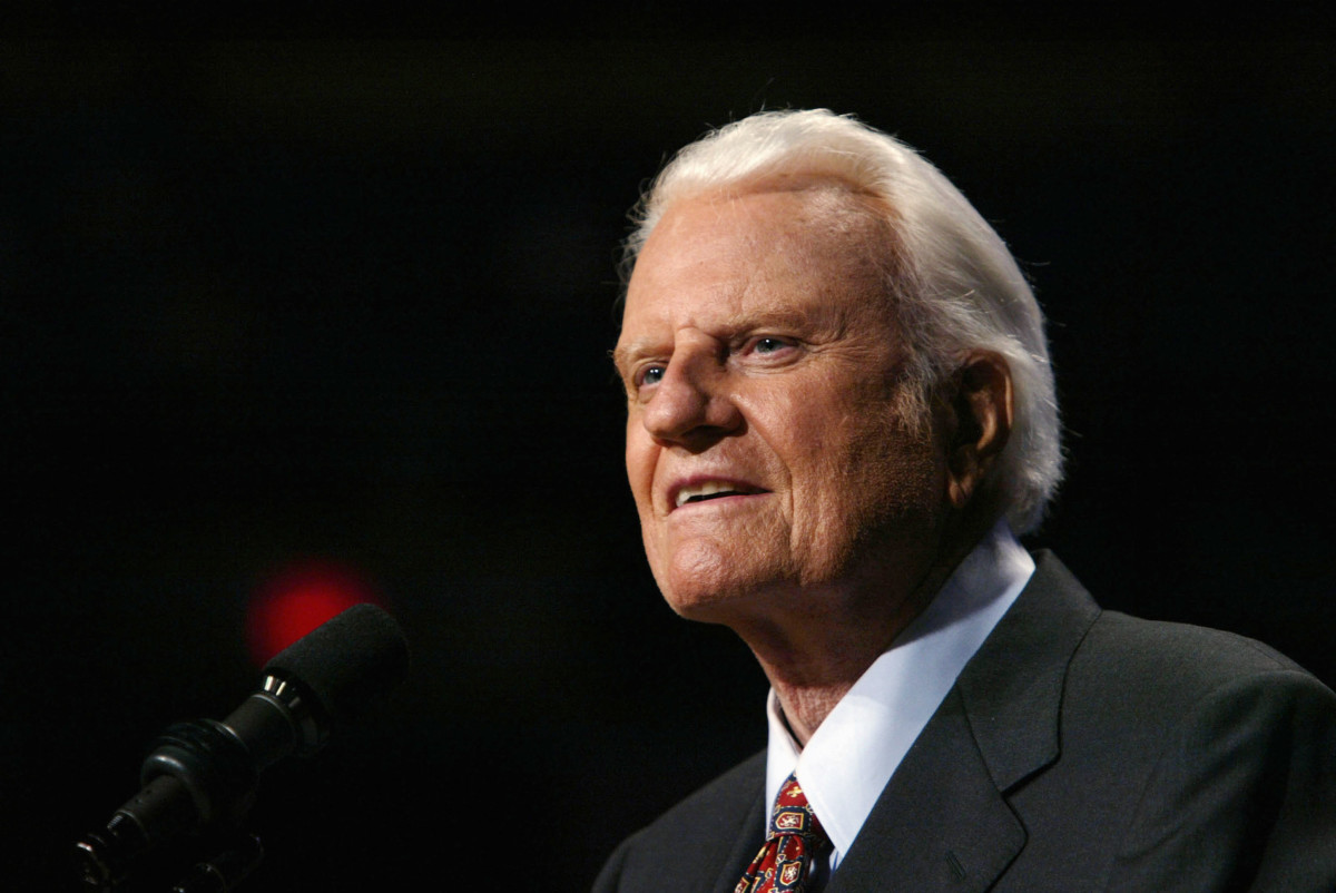 Billy Graham in 2003 Photo By David Hume Kennerly/Getty Images