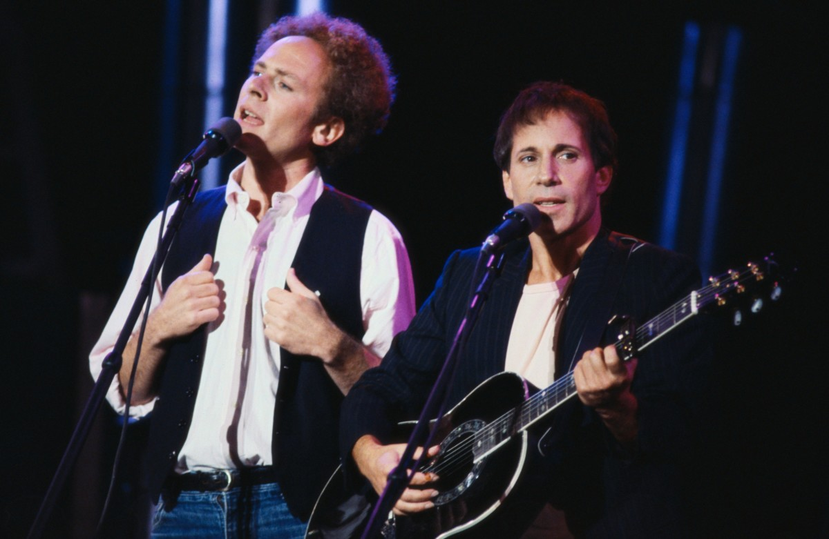 Art Garfunkel & Paul Simon in 1981 Photo By Lynn Goldsmith/Corbis/VCG via Getty Images