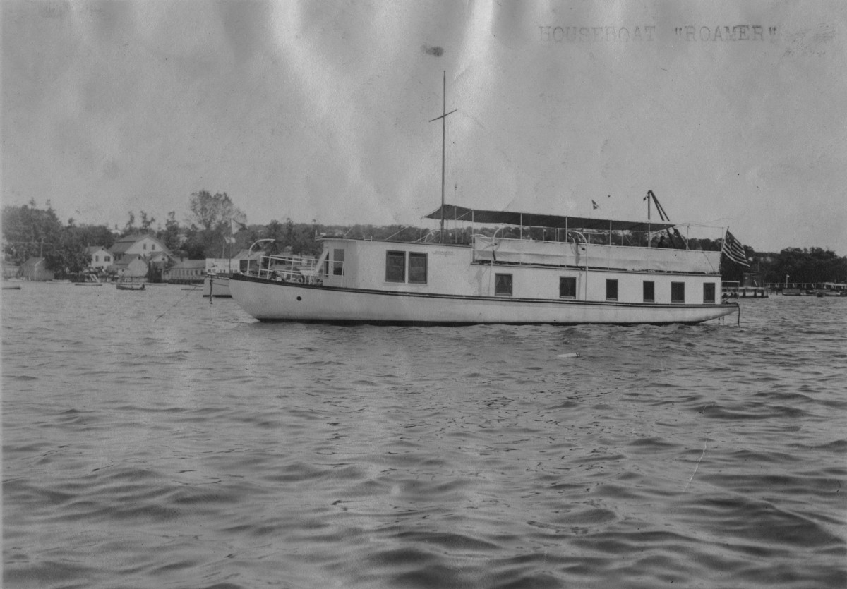 Franklin Delano Roosevelt's Larooco Houseboat Photo Karen Chase
