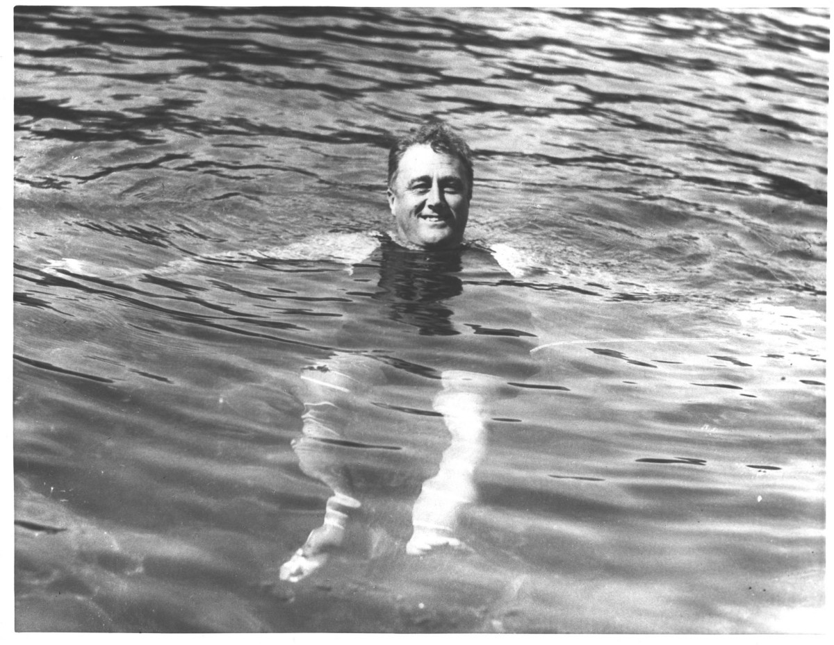 Franklin Delano Roosevelt in Warm Springs Photo Courtesy Karen Chase