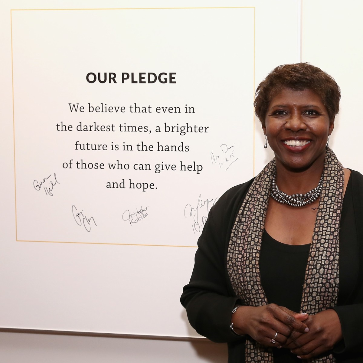 Gwen Ifill photo via Getty Images