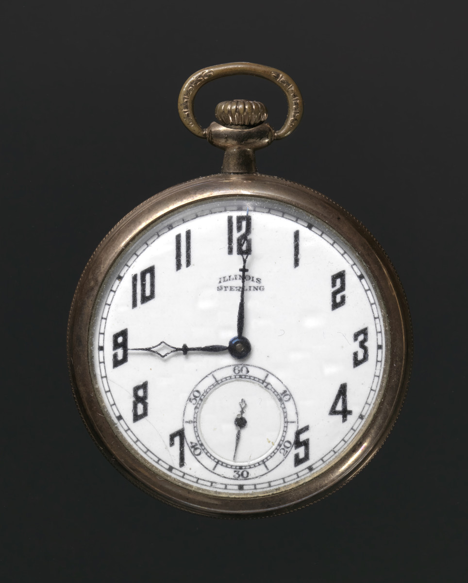 Harry T. Moore Pocket Watch Photo