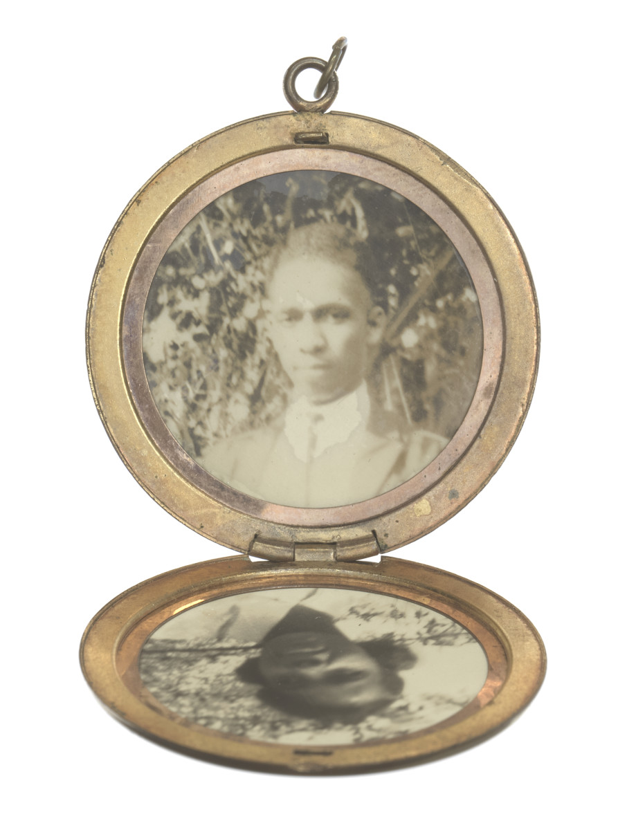 Harry T. Moore Locket Photo