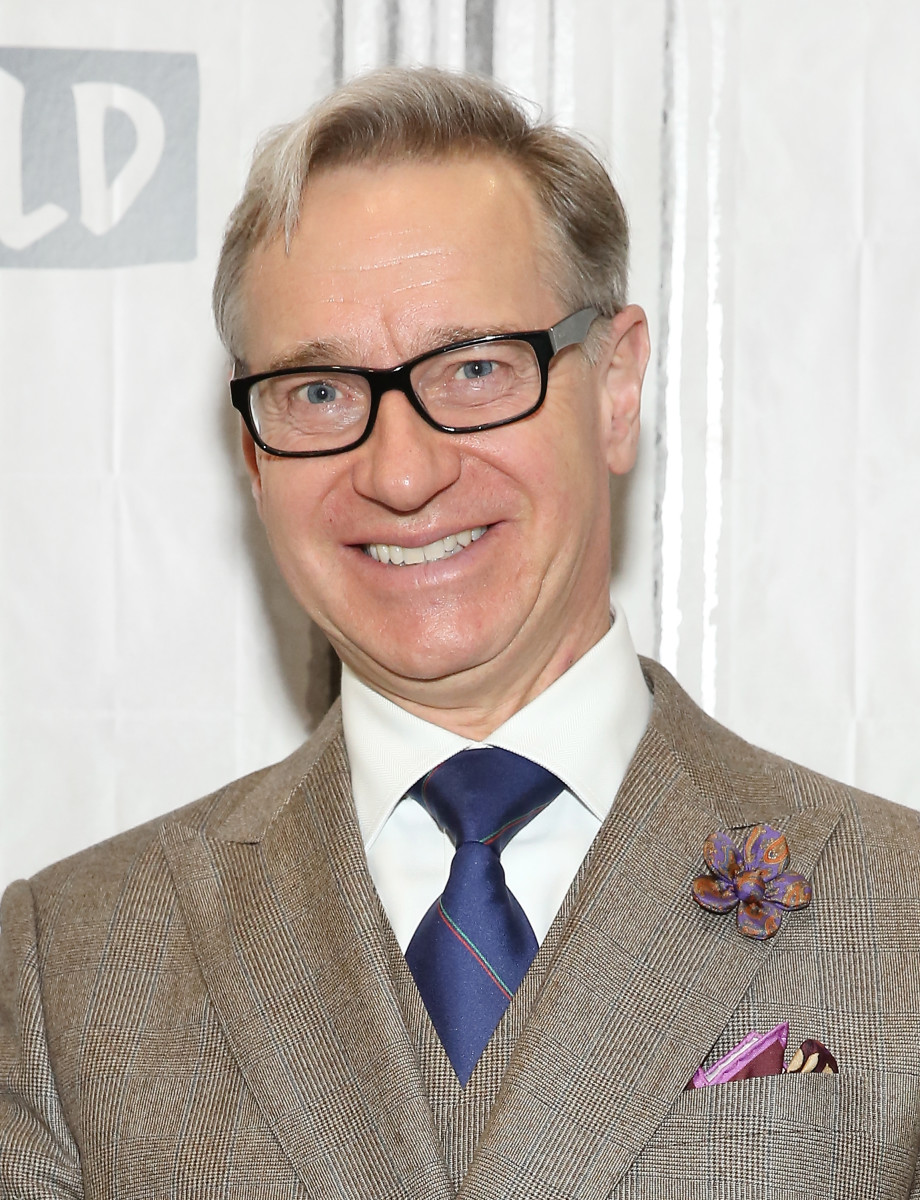 Paul Feig discusses Paul Feig for J.Crew at Build Studio on November 27, 2017 in New York City.