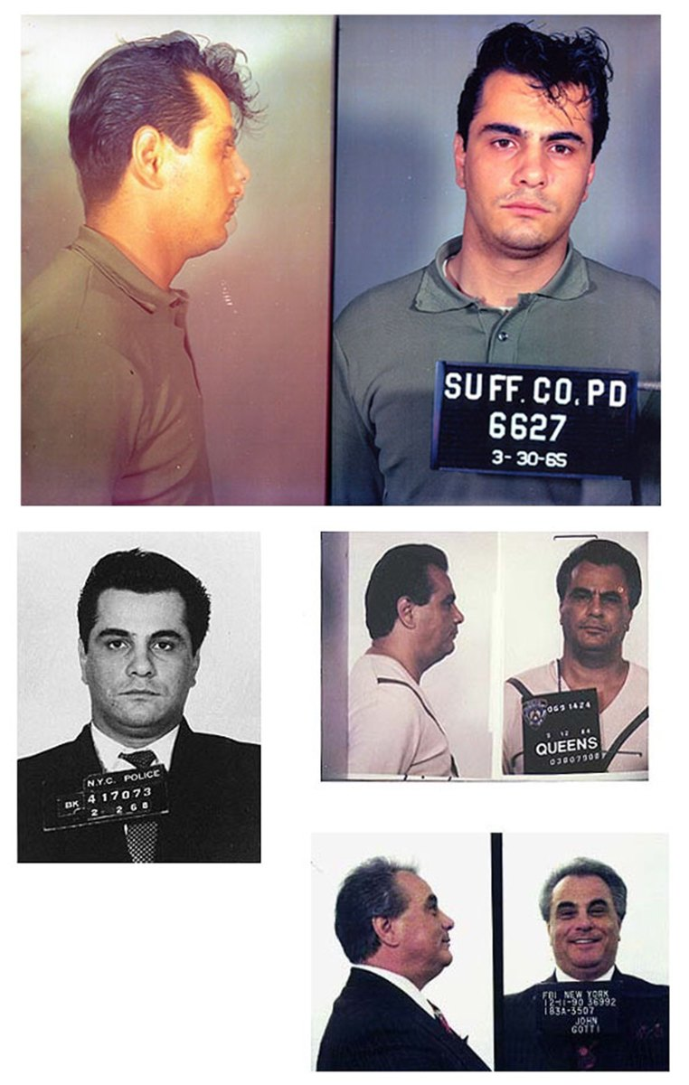 John Gotti Mug Shots Photo