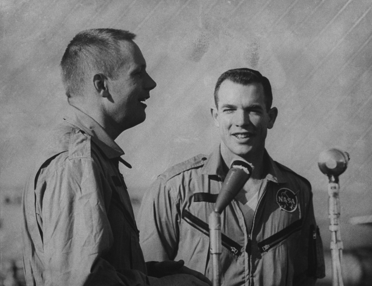 Neil Armstrong and David R. Scott