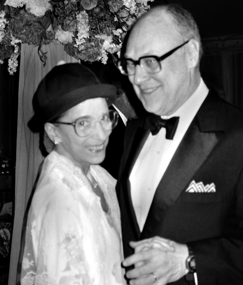 The Incredible Love Story Of Ruth Bader And Marty Ginsburg Biography