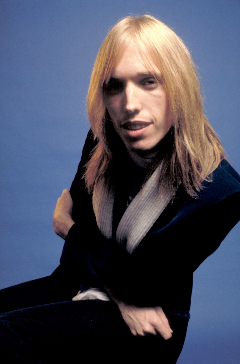 Tom Petty photographed in 1976.