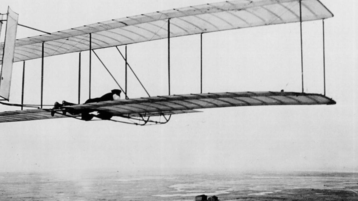 Wright Brothers Flight within biography: the wright brothers - biography