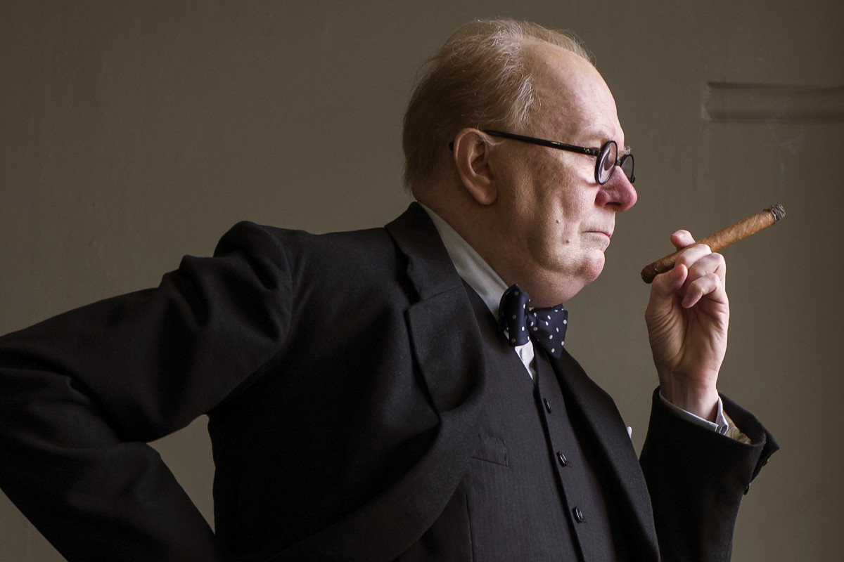 darkest hour depicts winston churchill in brightest