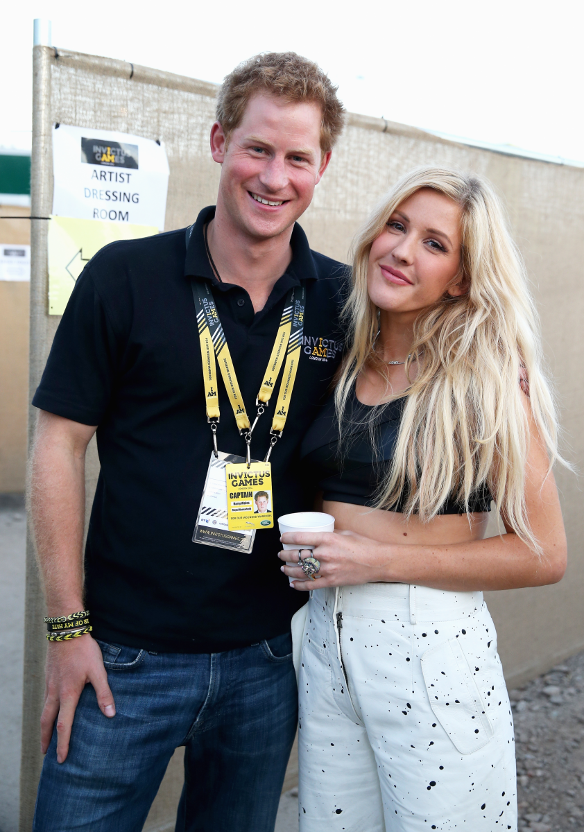Prince Harry Ellie Goulding Photo