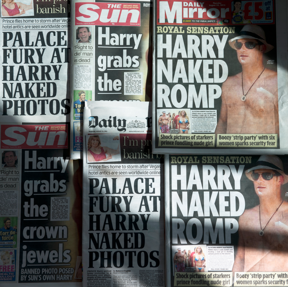Prince Harry Vegas Naked Photo