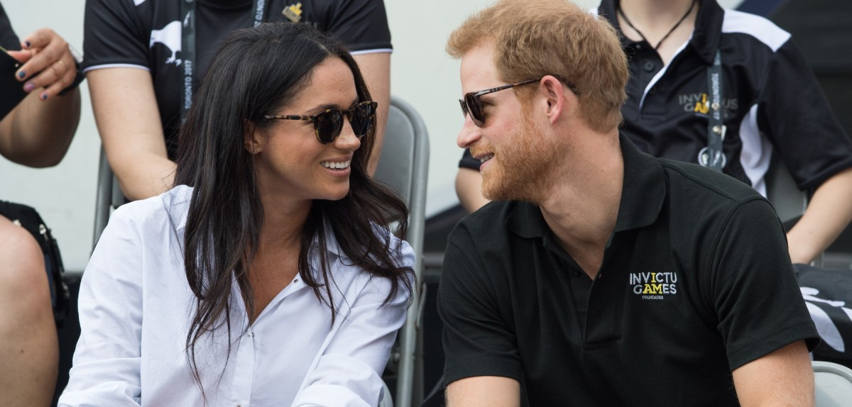 "Prince Harry and Meghan Markle have announced their engagement. The prince's grandparents Queen Elizabeth and Prince Philip said they were ""delighted for the couple and wish them every happiness."""