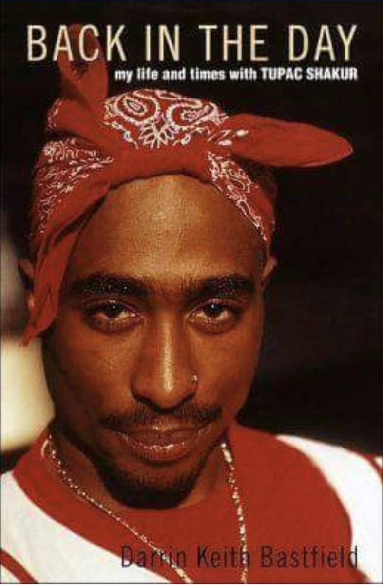 'Back in the Day' Tupac Book Cover Photo