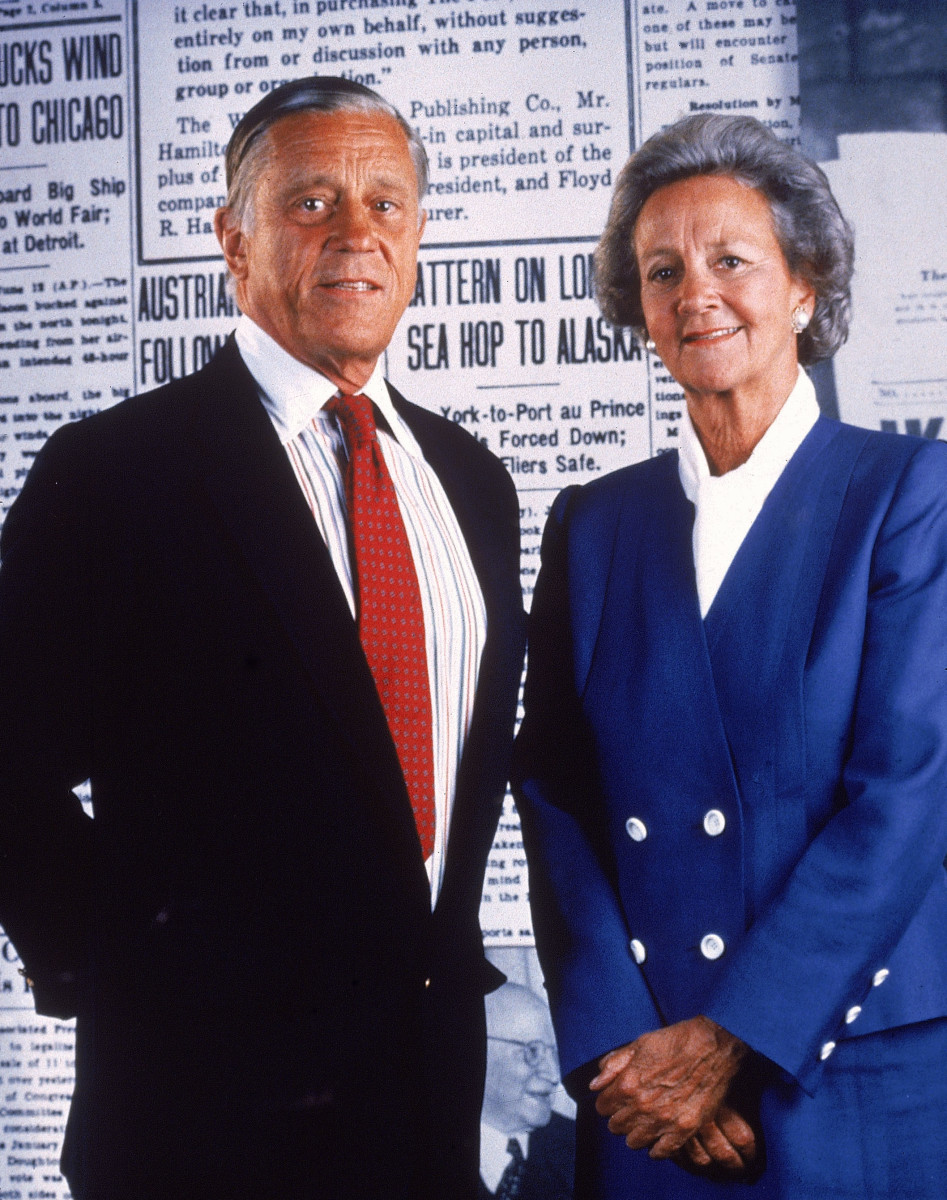 Ben Bradlee Katharine Graham Photo