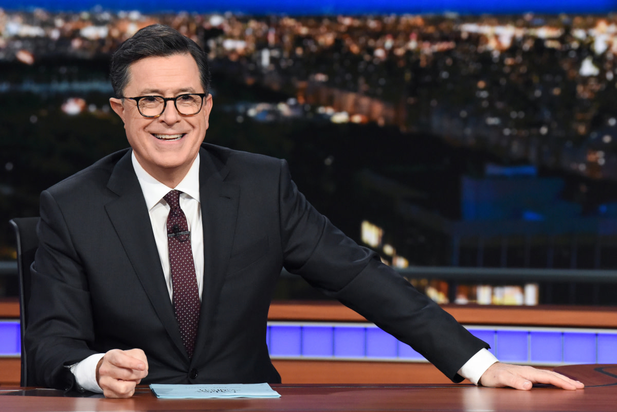 Stephen Colbert Late Show Photo