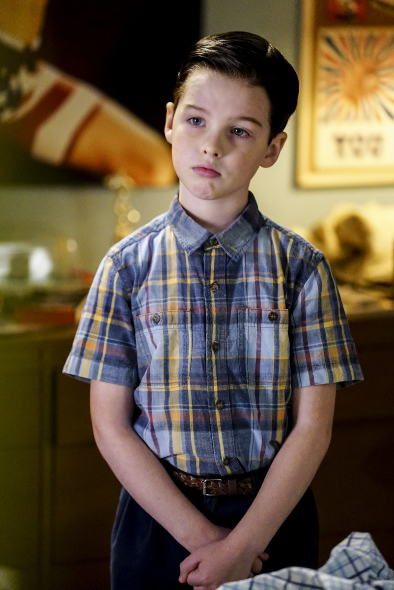 Iain Armitage Young Sheldon Photo