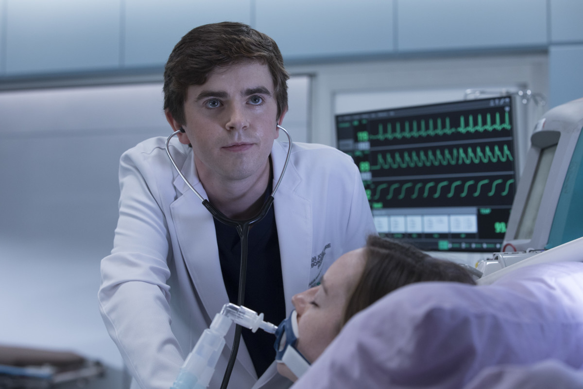 Freddie Highmore The Good Doctor Photo